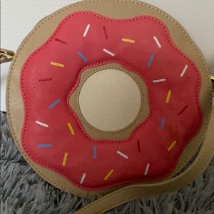 Charming Charlie Bags - Donut Shaped Novelty Purse